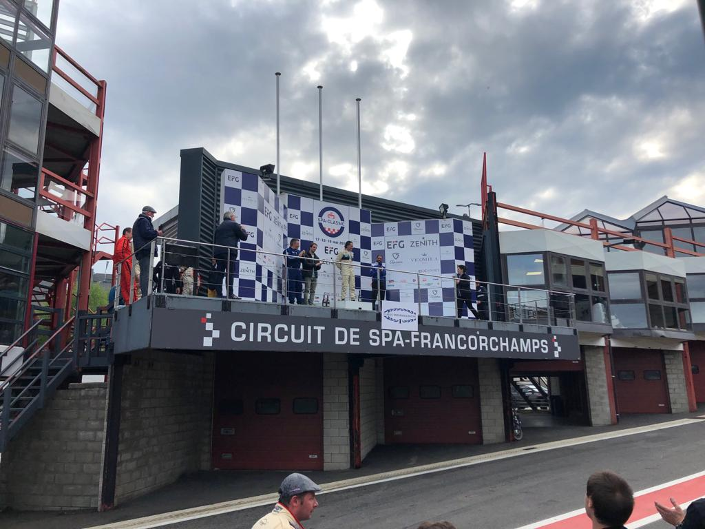 Spa Francorchamps Race Podium