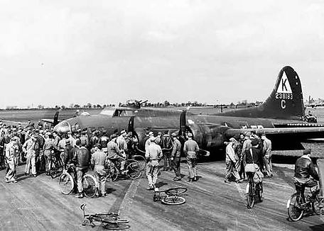 379th Bomb Group, Kimbolton Airfield