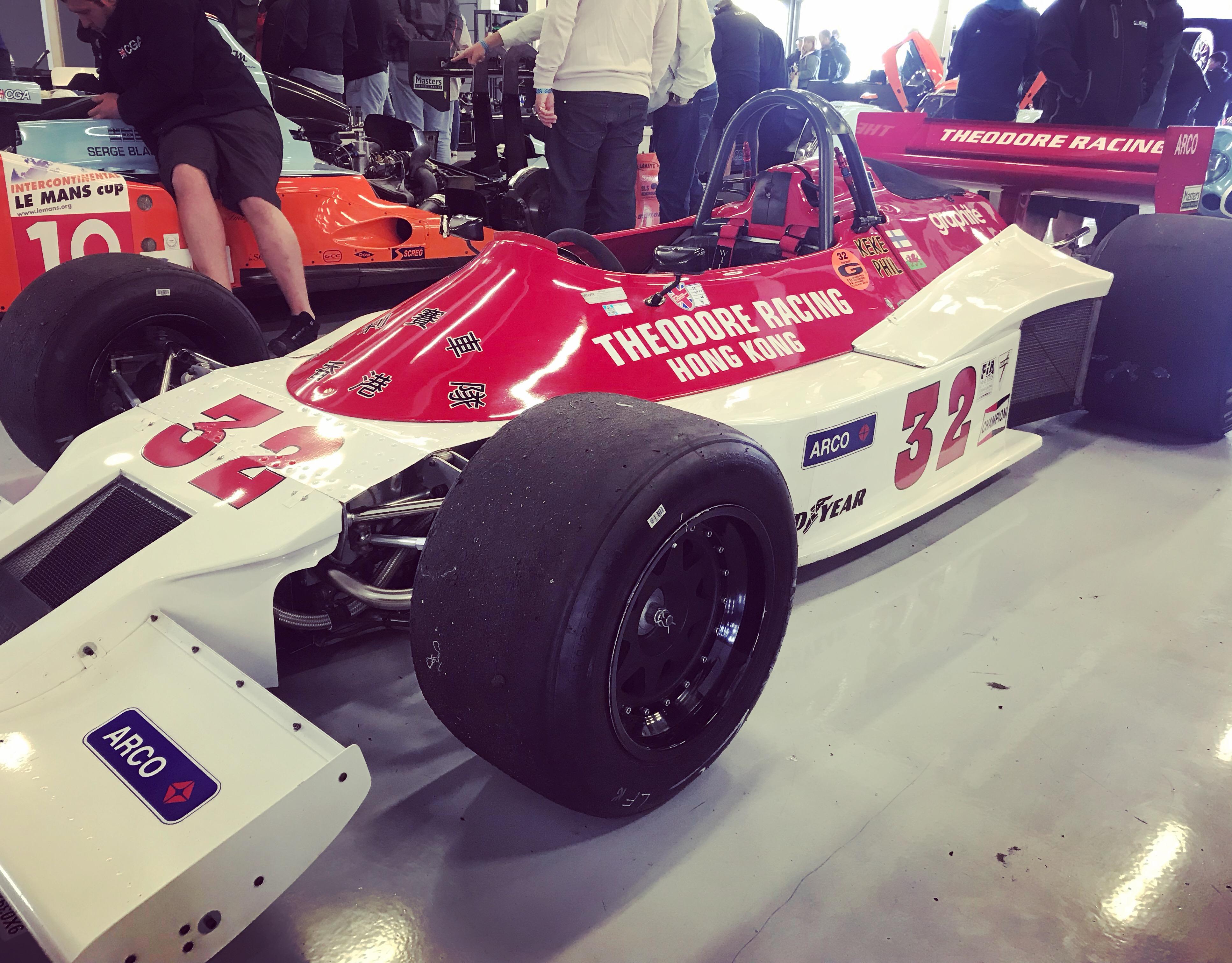 Theodore TR1 Silverstone Classic 2019