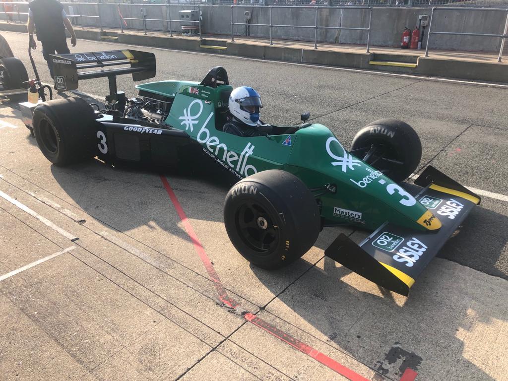 Ian Simmonds Tyrrell 012 Qualifying