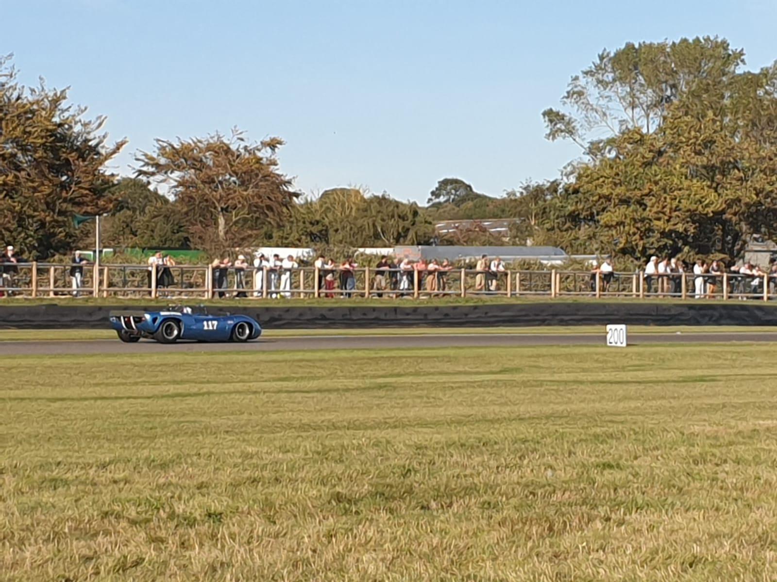 Ian Simmonds on Circuit - Goodwood Reviv