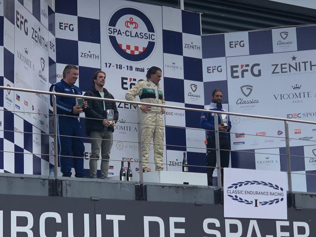 2nd in Class Spa Francorchamps