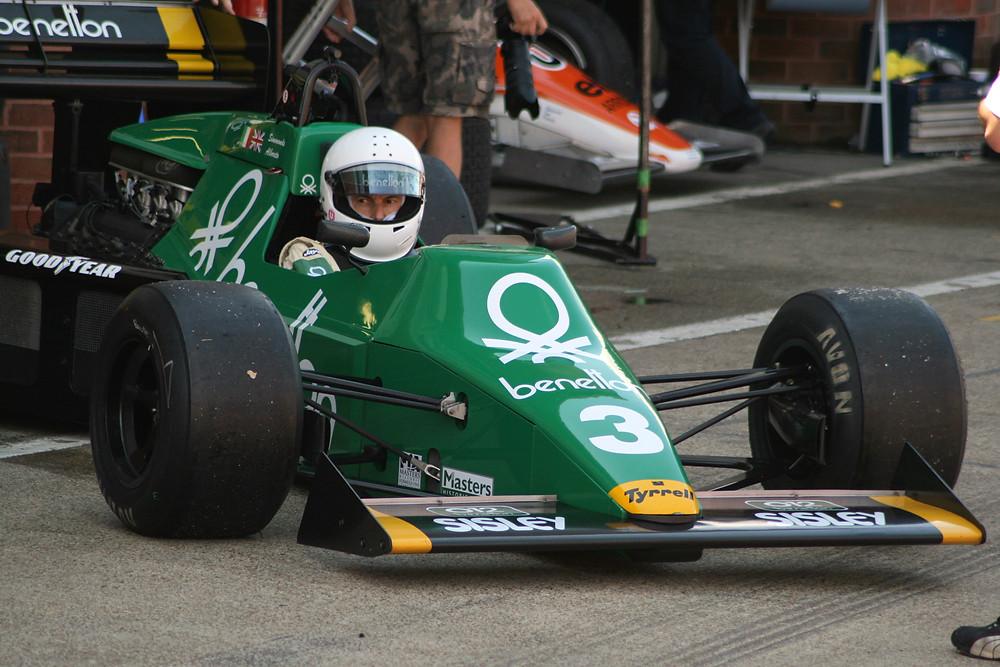 Ian Simmonds Brands Hatch