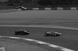Fighting in Formula Juniors