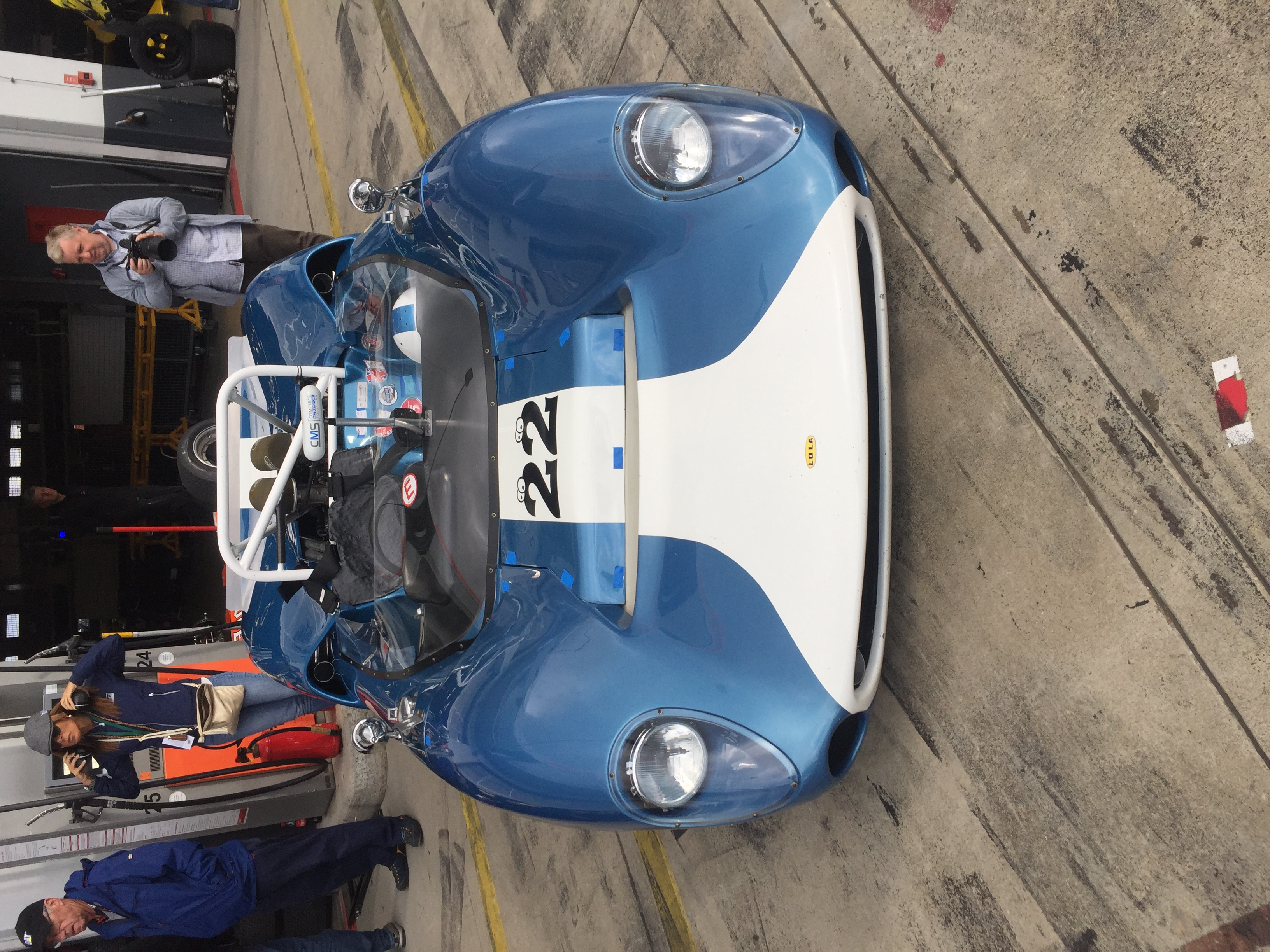 Michiel Smits Nurburgring Lola T70