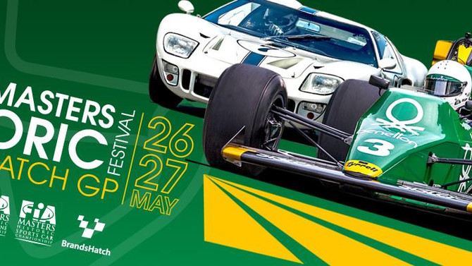The Masters Historic Festival - Brands Hatch