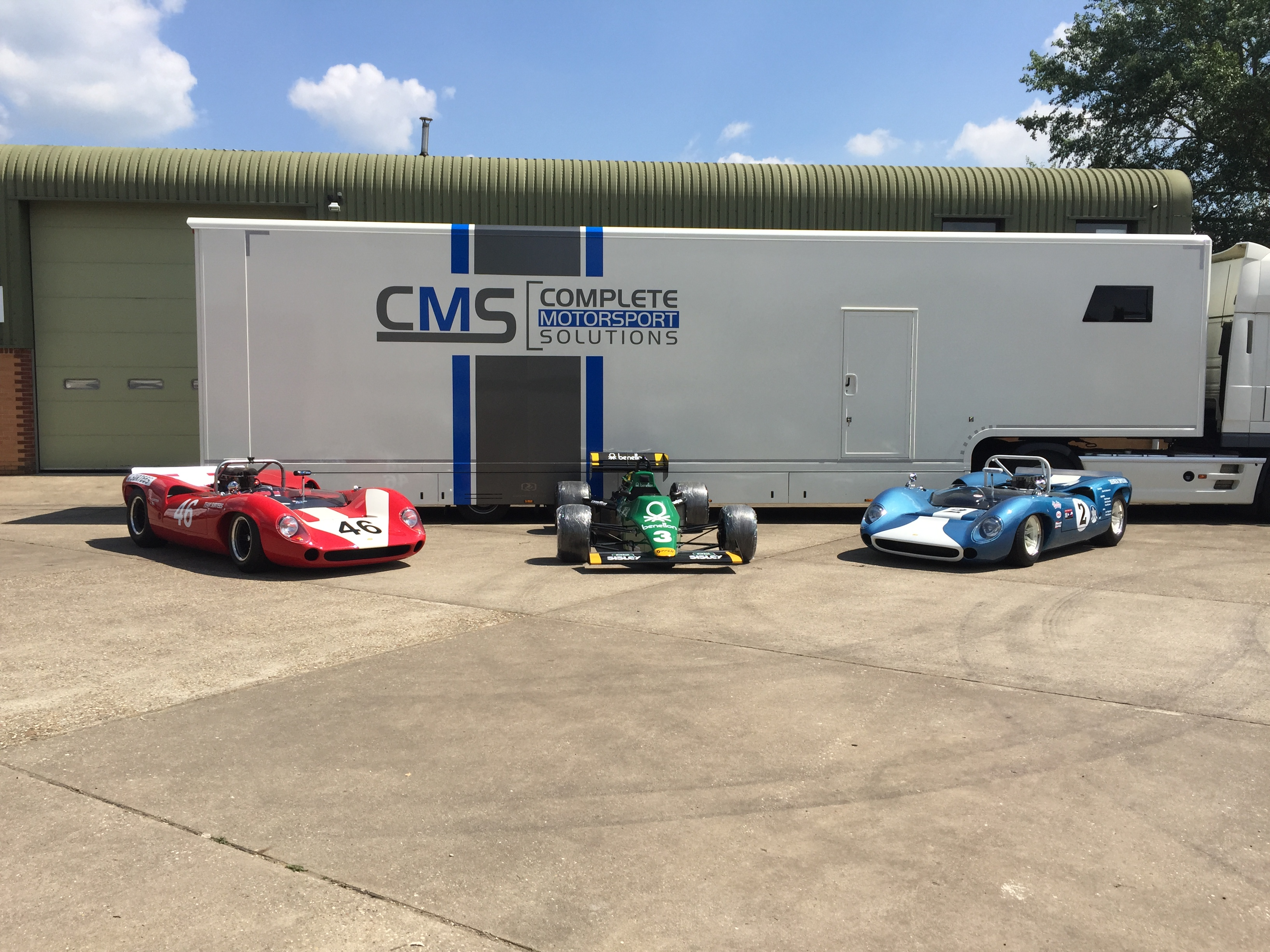 CMS Motorsport Facilties