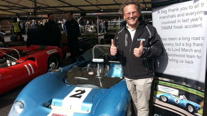 Michiel Smits Triumphant return to his Lola at 75MM