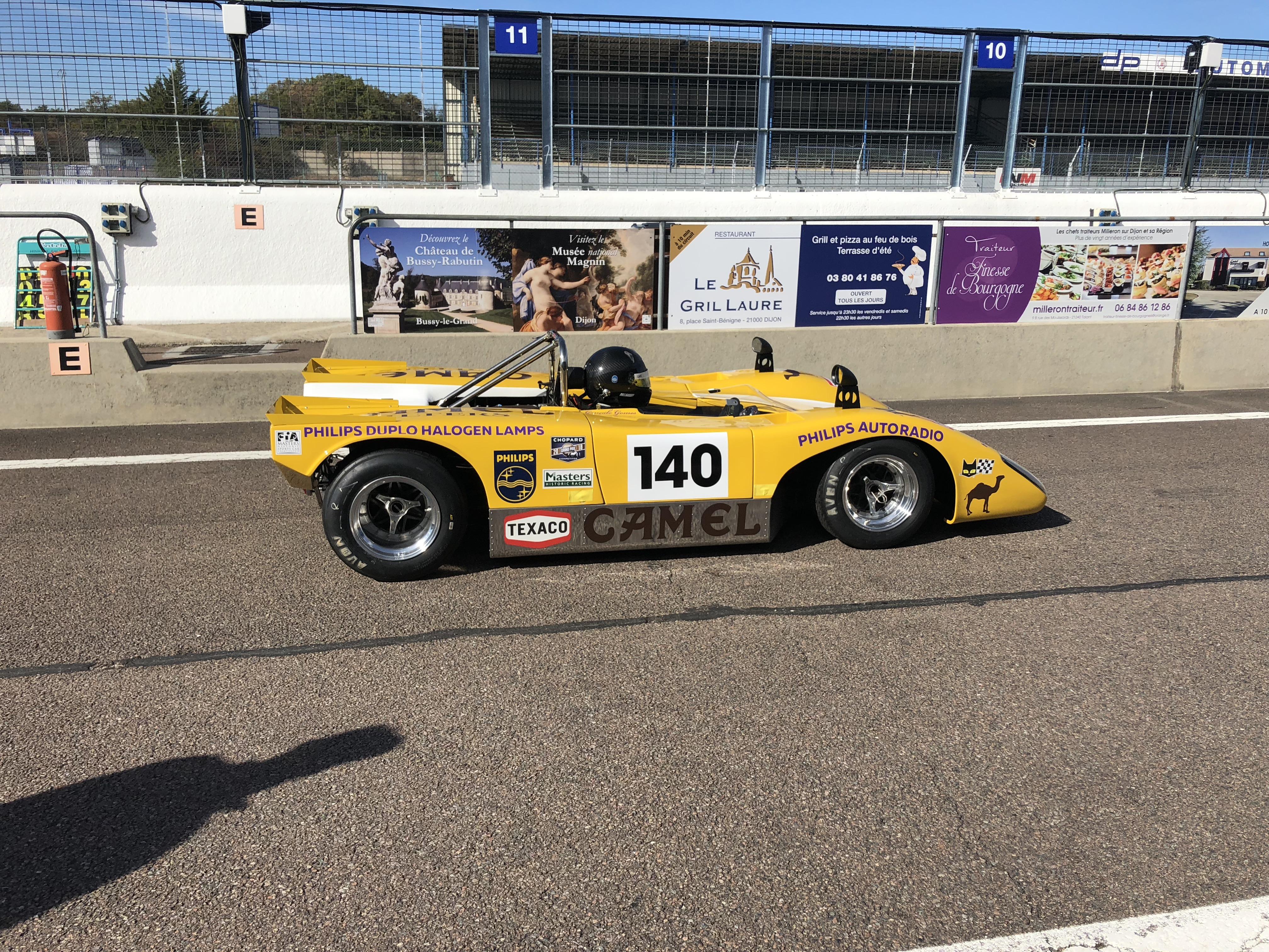 Historic Sports Cars Dijon