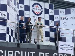 Spa Summer Classic Race Podium