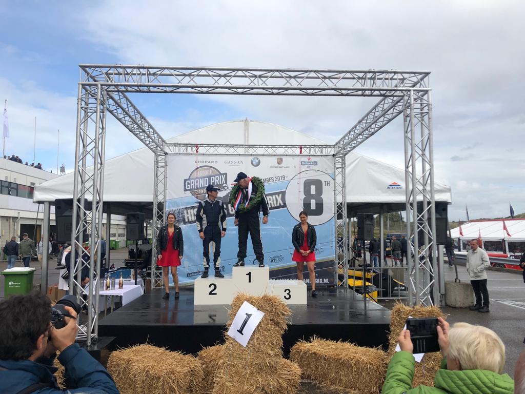 Ian Simmonds Podium Zandvoort 2019