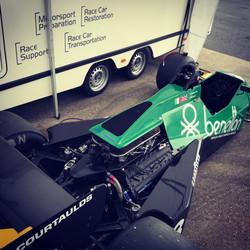 Ian Simmonds Tyrrell 012 - Silverstone G