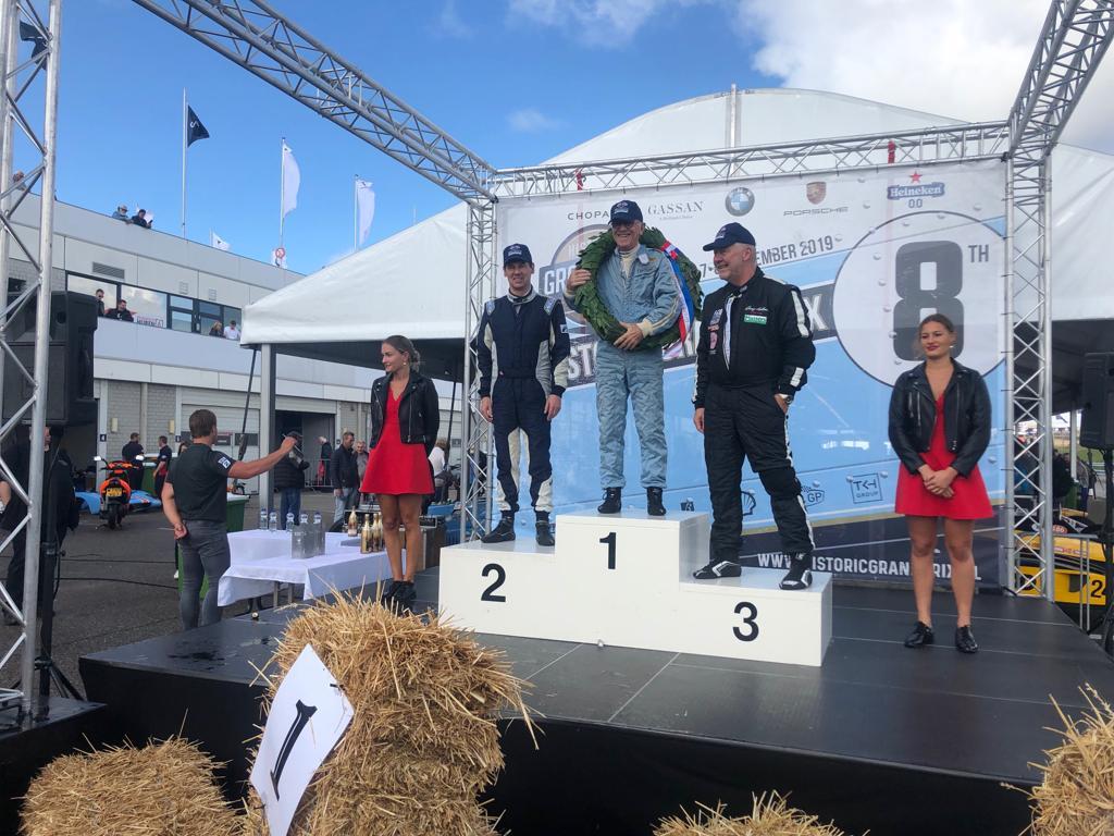 Ian Simmonds Race 1 Podium - Zandvoort
