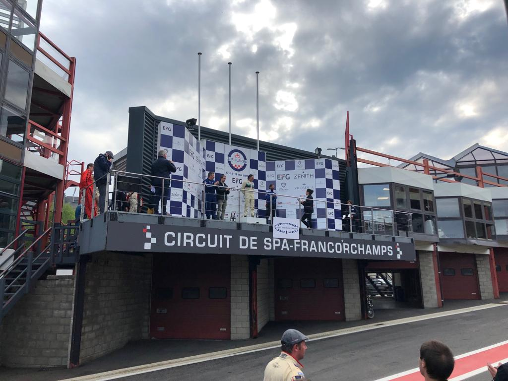 Race Podium Spa Summer Classic 2019