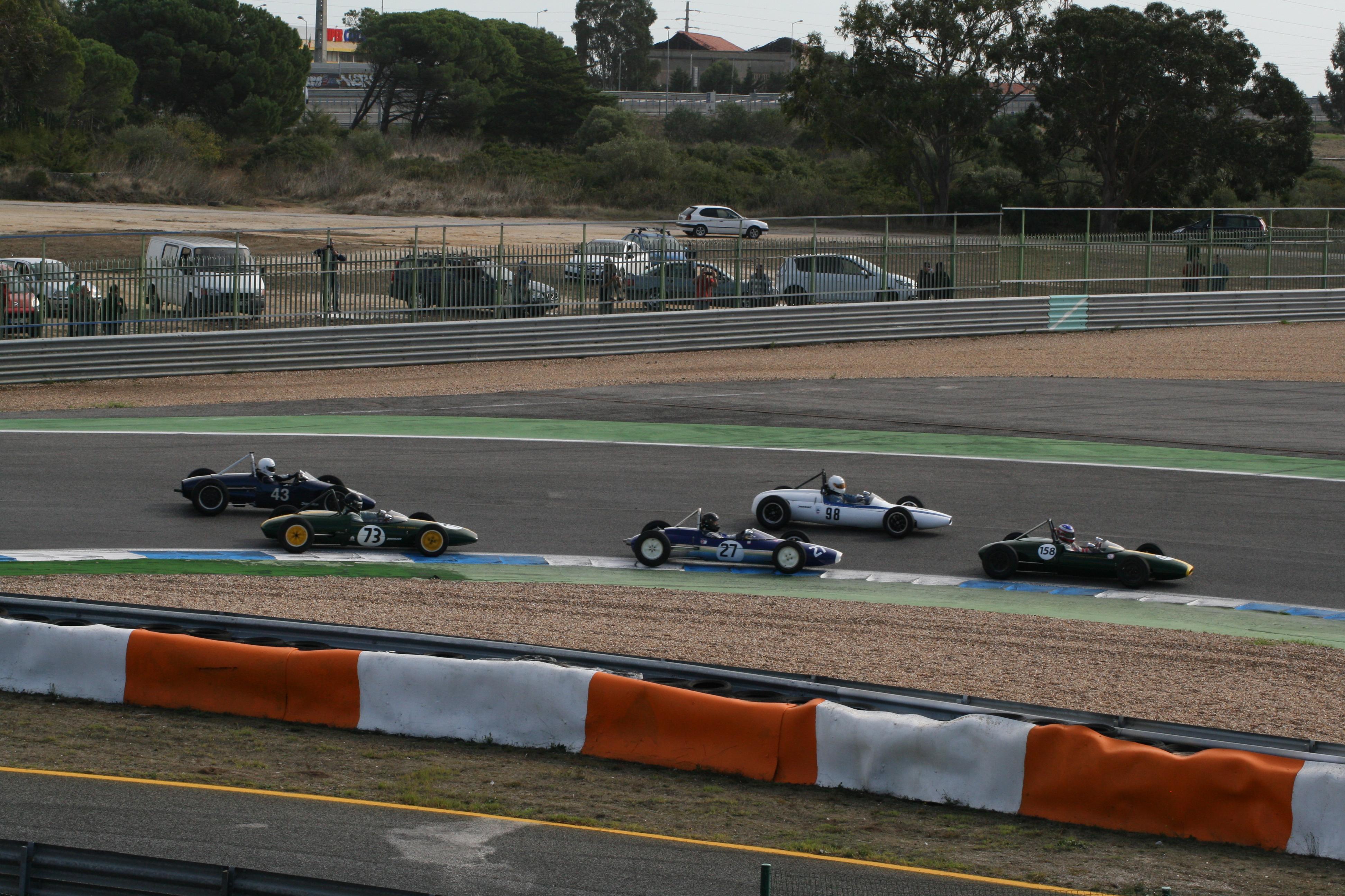 Formula Junior Race Start