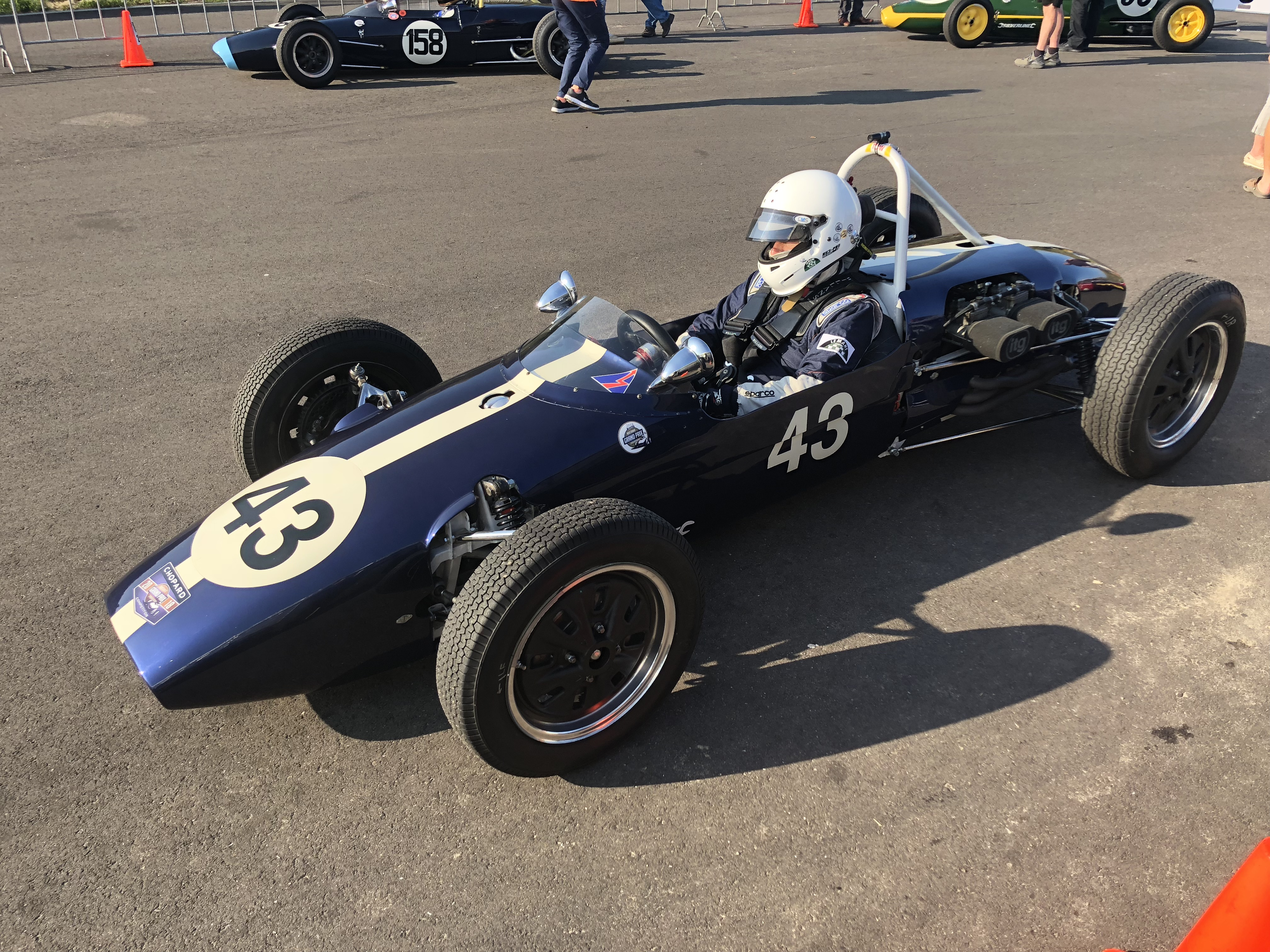 Ian Simmonds Formula Junior