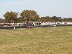 Mike Whitaker on Circuit at Goodwood