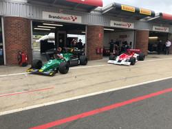 Tyrrell 012 & Theodore TR1