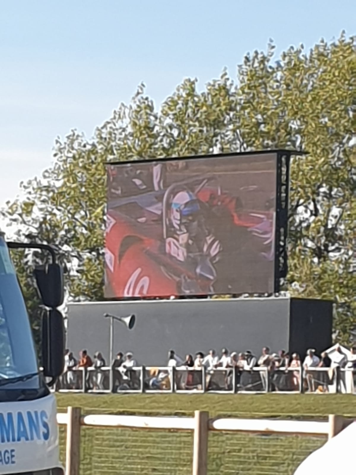 Mikw Whitaker on the big Screen