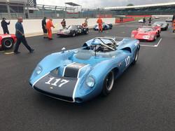 Ian Simmonds Lola T70 Silverstone Classi