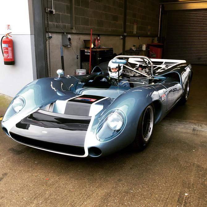 T70 Donington Park Test