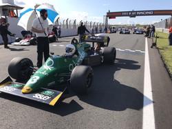 Ian Simmonds grid Zandvoort