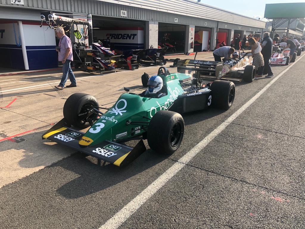 Ian Simmonds - Tyrrell 012 - historic F1