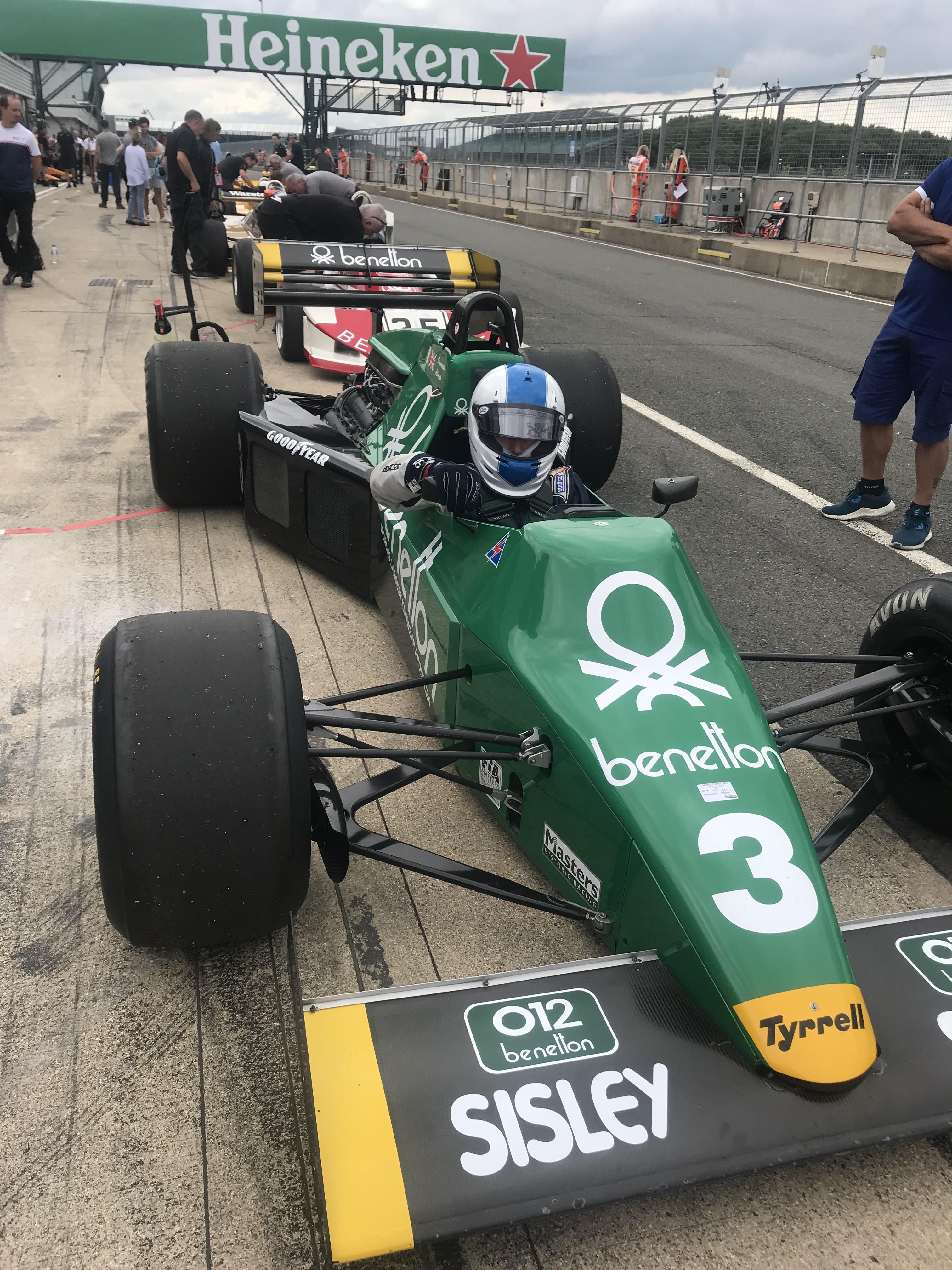 Tyrrell 012 - 01 Silverstone 2019