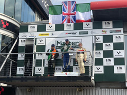 Phil Hall 1st in Class Brands Hatch Podi