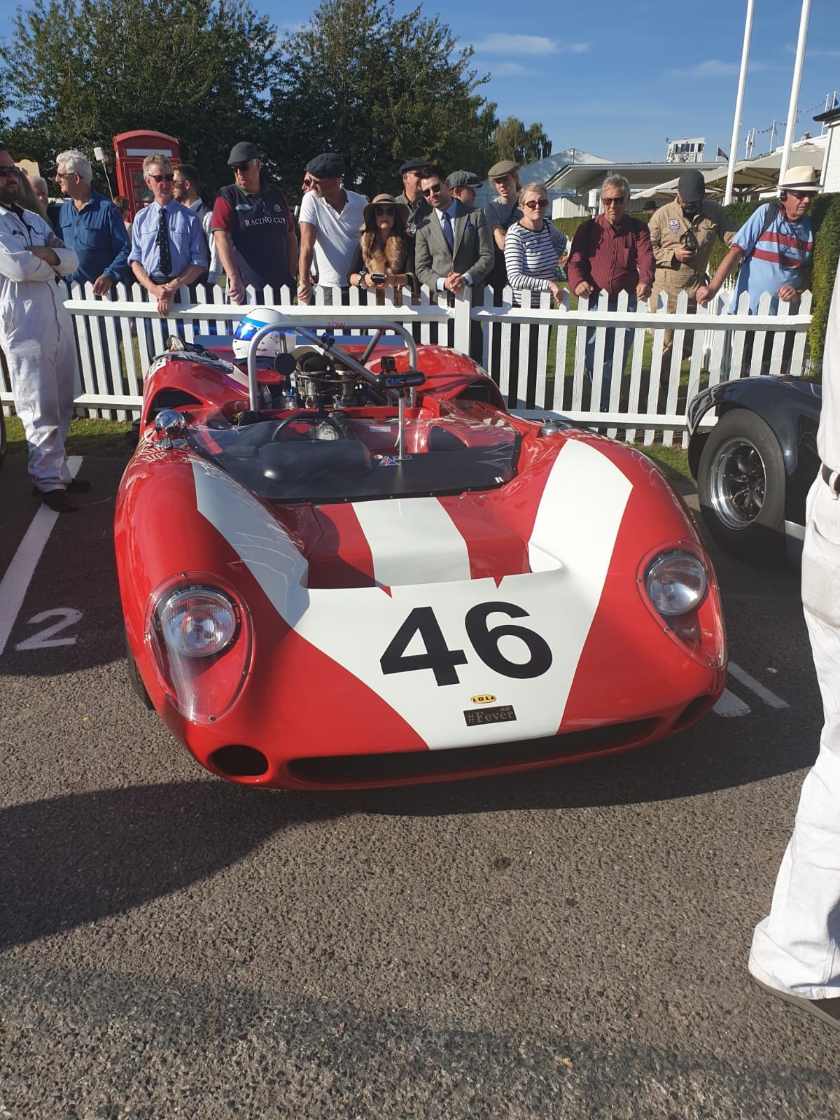 Mike Whitaker - Goodwood Revival 2019