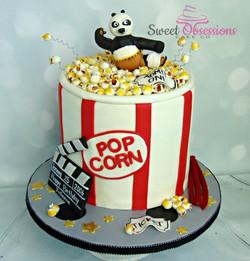 Popcorn Tub Cake