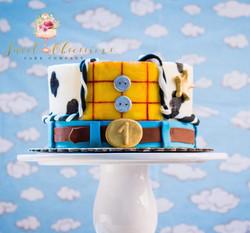 Toy Story Theme Smash Cake