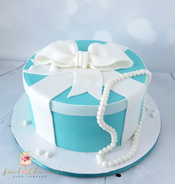 Tiffany's Theme Cake