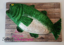 Carved Fish Cake