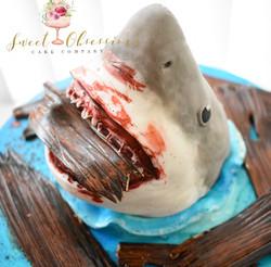 Jaws Theme Cake
