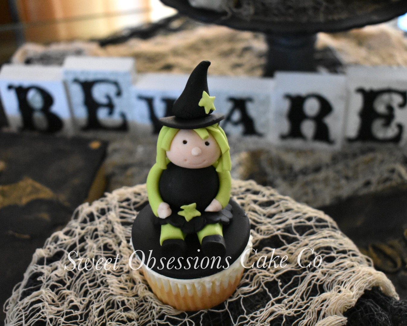 Witch Cupcake