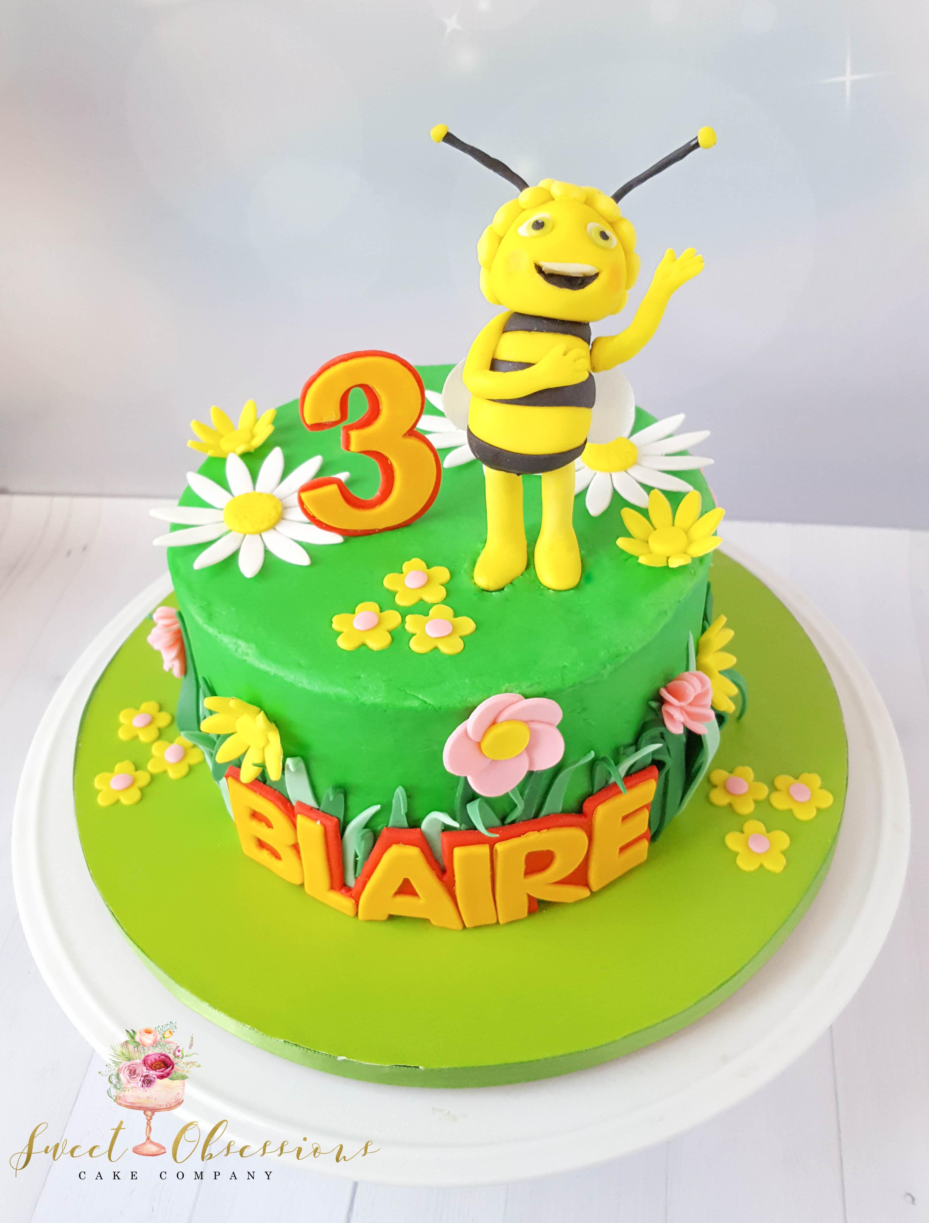 Maya the Bee Cake