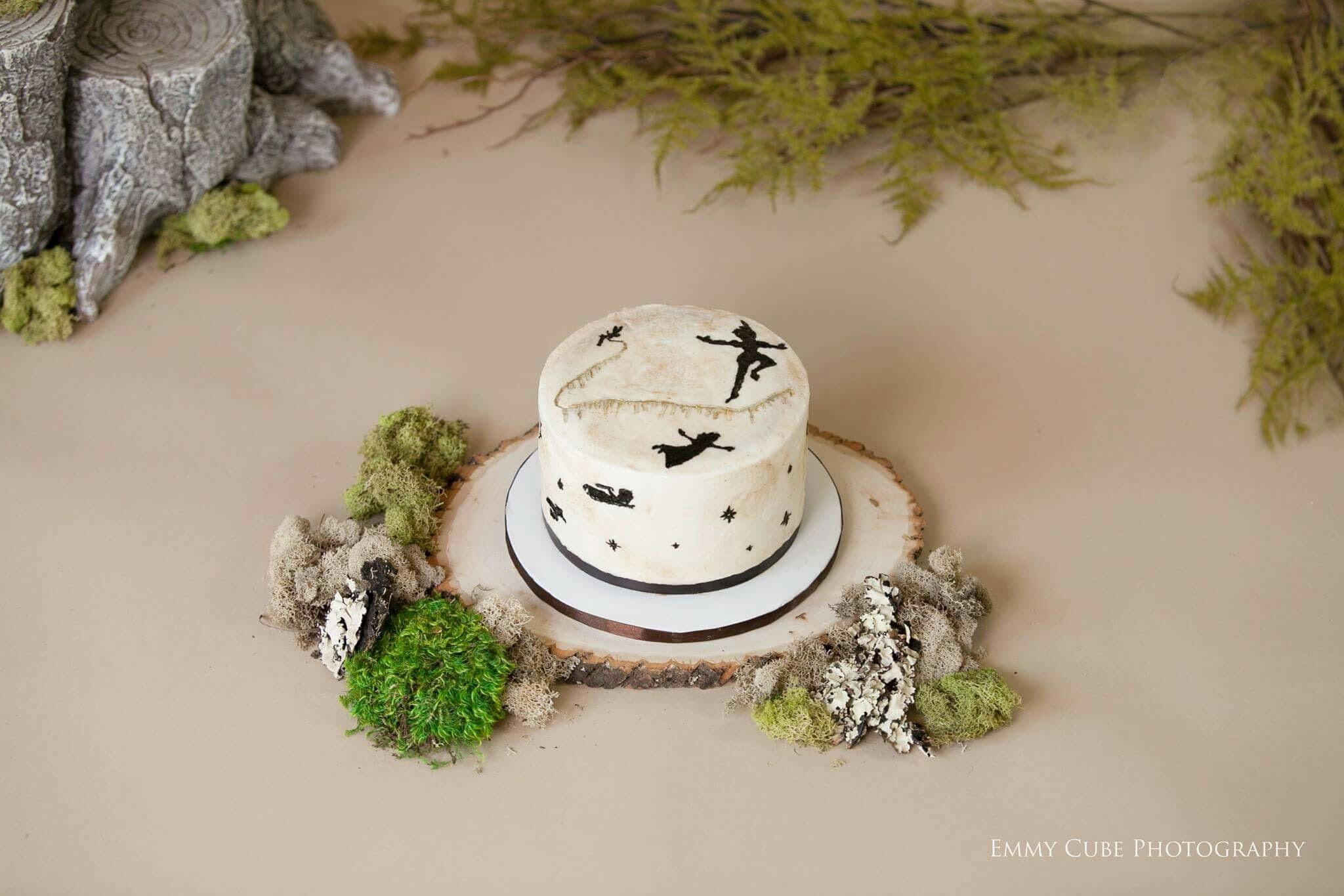 Neverland Smash Cake