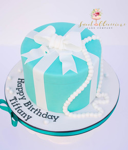 Tiffany Theme Cake