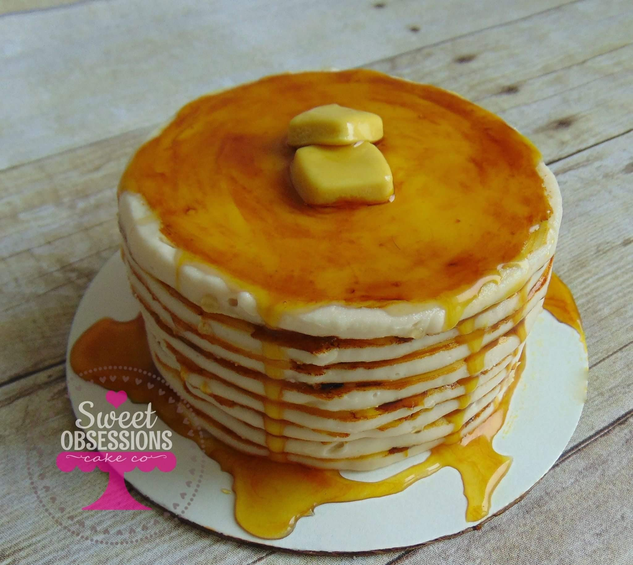 Pancake Smash Cake