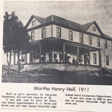 Martha Henry Hall
