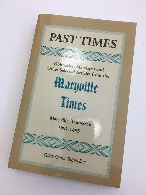 Past Times, Vol II (1891-1895)