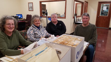 Volunteers at the Blount County Archives