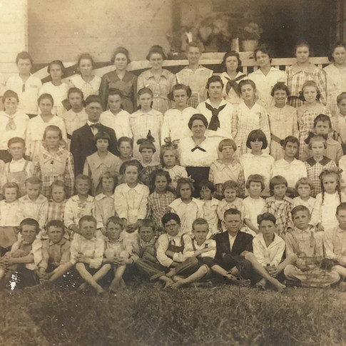 Students of Hubbard School, ca. 1914