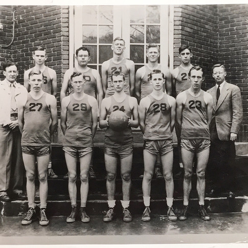 Walland High School basketball team, 1946-1947