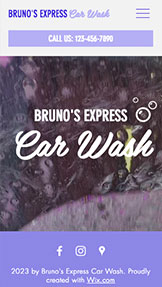 Automotive & Cars website templates – Car Wash Service