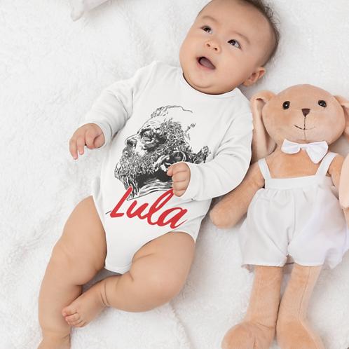 Body Comprido Bebê - Linha Lula Arte João Pinheiro