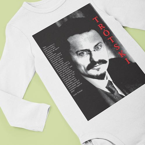 Body Comprido Bebê -    Linha Trotski frases