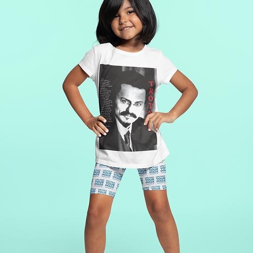 Camiseta Infantil Manga Curta - Linha Trotski frases