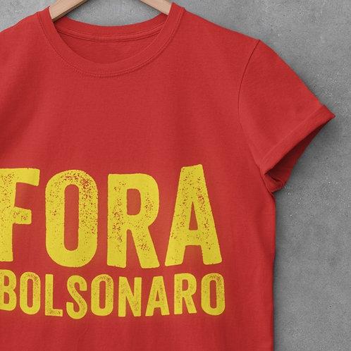 Camiseta - Fora Bolsonaro